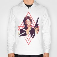 han solo Hoodies featuring Han Solo by Cesar Carlevarino