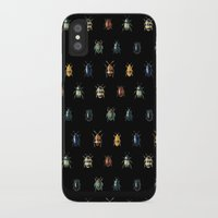 bugs iPhone & iPod Cases featuring Bugs by Gasoline Rainbow