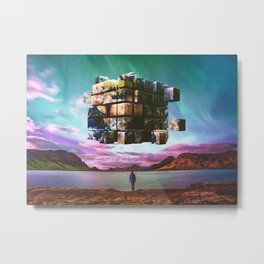 A Complicated Puzzle Metal Print