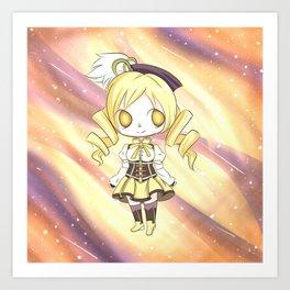 Mami Tomoe Galaxy Art Print