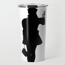 White Riot Travel Mug