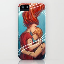 I heard your voice iPhone Case