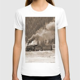 Steam Hauled Train - Engine 486 T-shirt