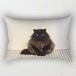 A Lone Cat  Rectangular Pillow