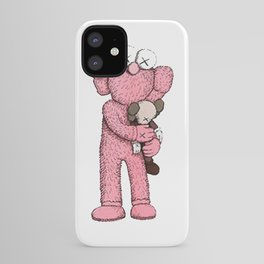 Kaws Pink iPhone Case