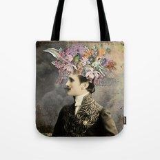fLoWeR heAd Tote Bag