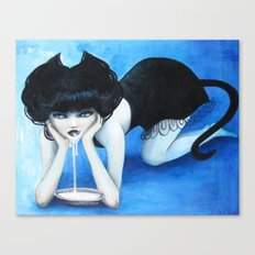 Selina the Cat Girl Canvas Print