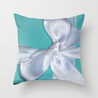 shabby chic Throw Pillows featuring shabby chic by Photofairy