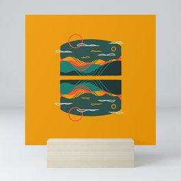 Line Scapes 9 Mini Art Print