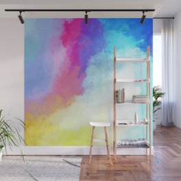 Abstract Fantasy Magical Clouds Painting Wall Mural