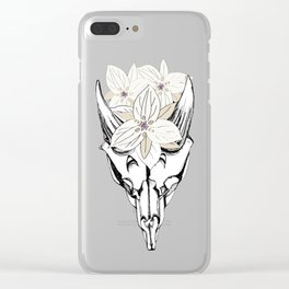 Saola - Jewel of the Ammonites Clear iPhone Case