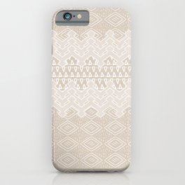 Akra in Tan iPhone Case