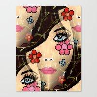 blossom Canvas Prints featuring Blossom by Sartoris ART