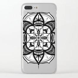 Boho MindVibe Clear iPhone Case