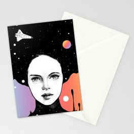 If You Were My Universe Stationery Cards