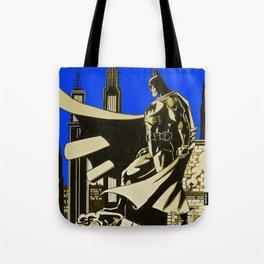 The caped crusader  Tote Bag