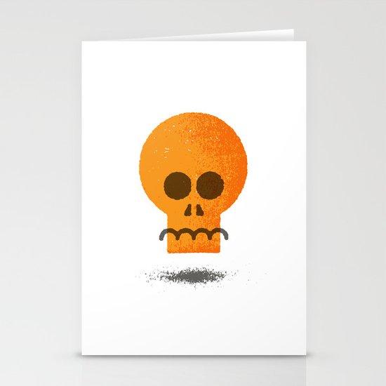 Floating Skull Stationery Cards