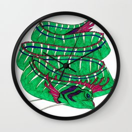 Oar Fish Wall Clock