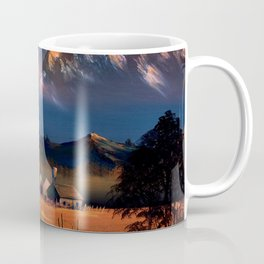 Evening glow of Takayama Coffee Mug