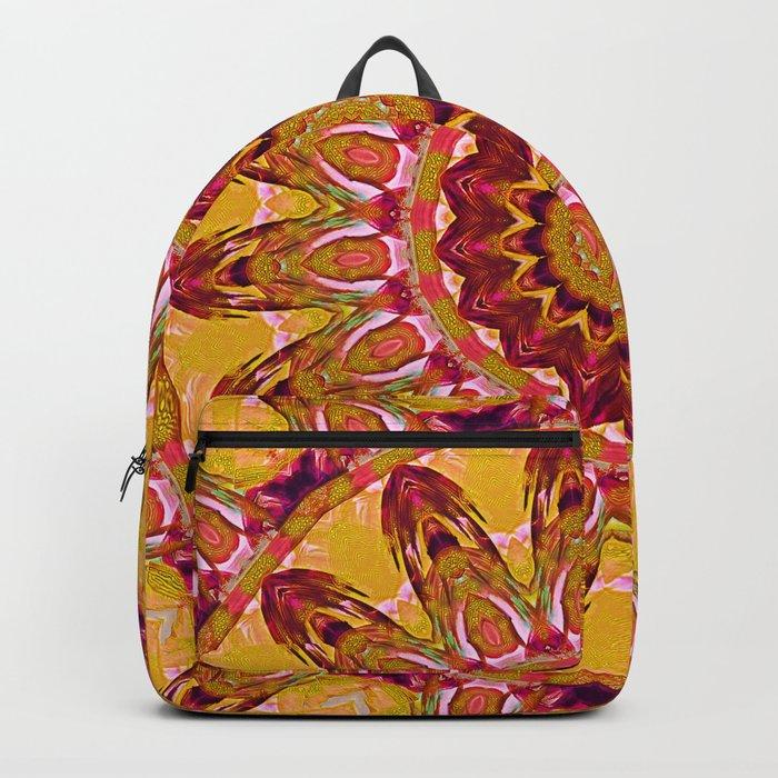 The goldish mandala Backpack