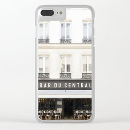 Bar du central Clear iPhone Case
