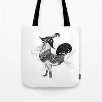 pirate Tote Bags featuring Pirate by Sarinya  Withaya