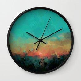 Martinique Wall Clock