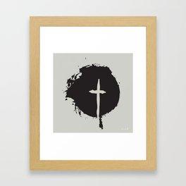 The X Framed Art Print