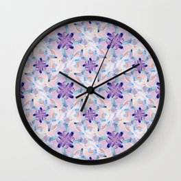 Jess Abstract Painting Wall Clock