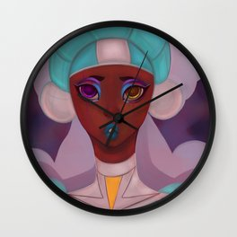 Cyborg Nurse Wall Clock