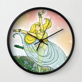 Cala blanca / Lily Wall Clock