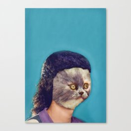 Your face does impressions of my ass Canvas Print