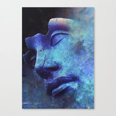 Strange Face Canvas Print