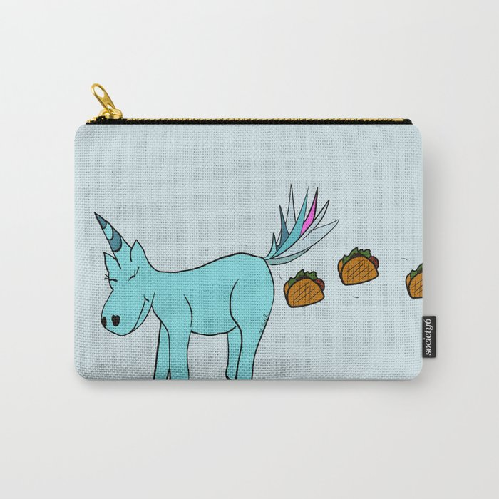 Unicorn Pooping Tacos Carry-All Pouch