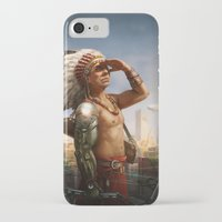 cyberpunk iPhone & iPod Cases featuring Cyberpunk by Luisa Preissler