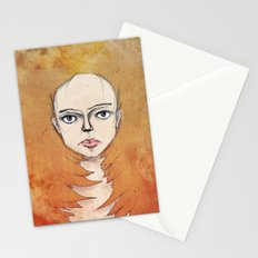 Into the Fire Stationery Cards
