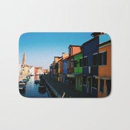 Venice Print Set, Venice Wall Art, Italy Photography Gallery Wall, Europe Wall Art, Europe Decor 5x5 Bath Mat