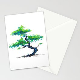 Blue Bonsai Stationery Cards