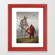 1410 Framed Art Print