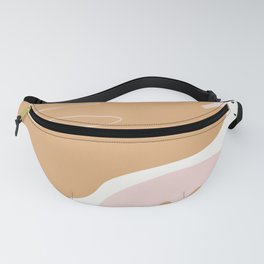 Abstract Pastel Spring Pattern Fanny Pack