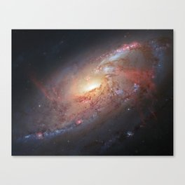 """Spiral Galaxy"" Canvas Print"
