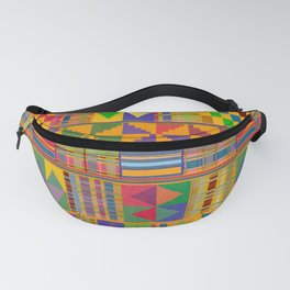 Kente Inspired Fanny Pack