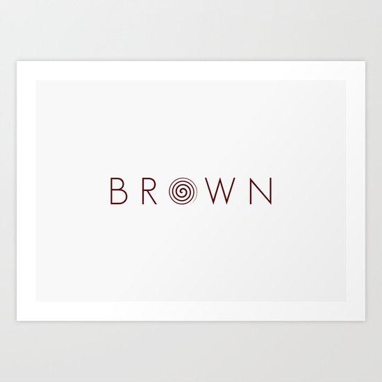 Derren Brown Art Print