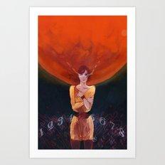 Zero Escape Mars Art Print