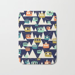 Alpine Wonderland Bath Mat