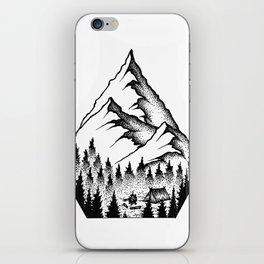 Mountain Camping iPhone Skin