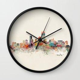 jersey city new jersey Wall Clock