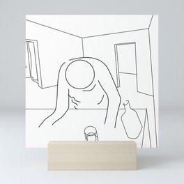 Life is Relentless Mini Art Print