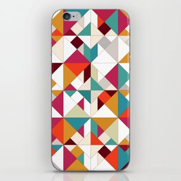 tangram geo iPhone Skin