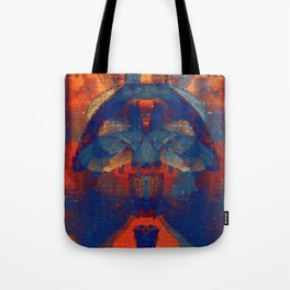 the postman, then the vicar Tote Bag